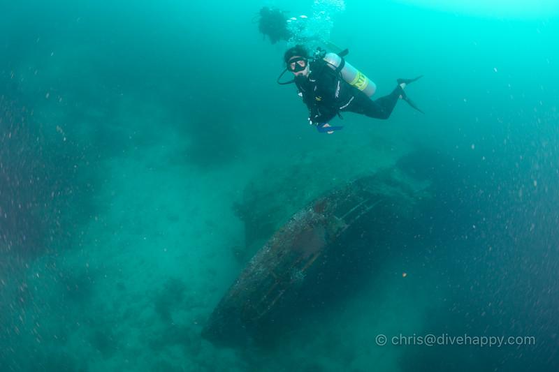 Tuna Wreck at Hideaway Bay