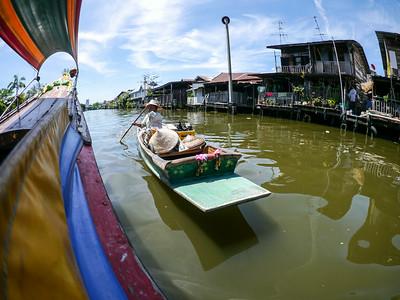 Chao Phaya river in Bangkok