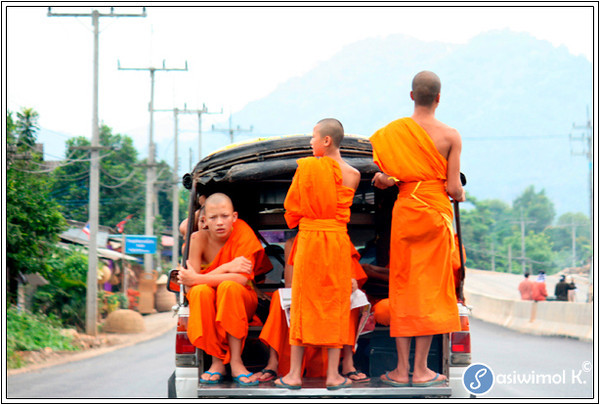 Monks, too, have to travel