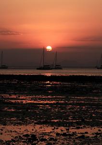 Sunset at Het Rai Lah West