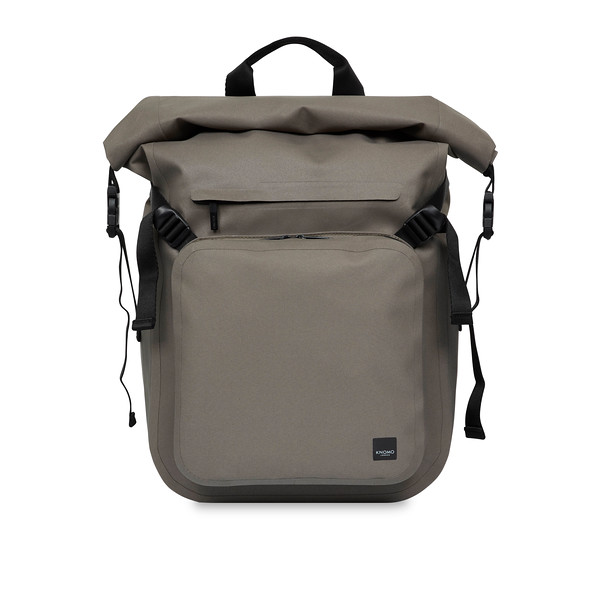 "HAMILTON  14"" ROLL TOP LAPTOP BACKPACK Water Resistant  44-401-KHA"