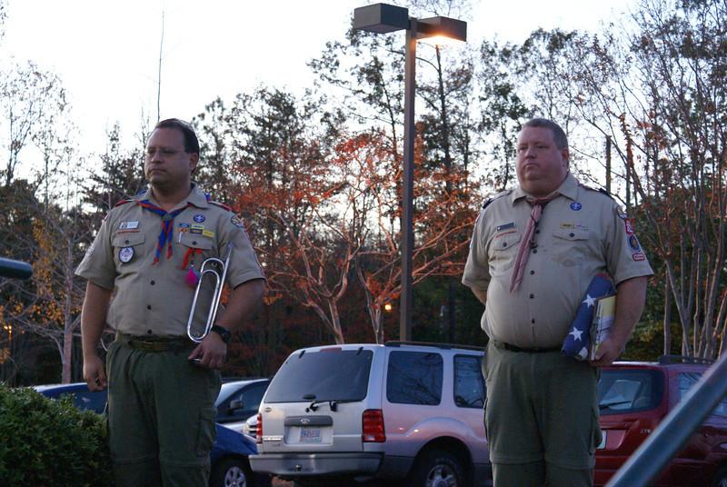 Flag Lowering November 12, 2009