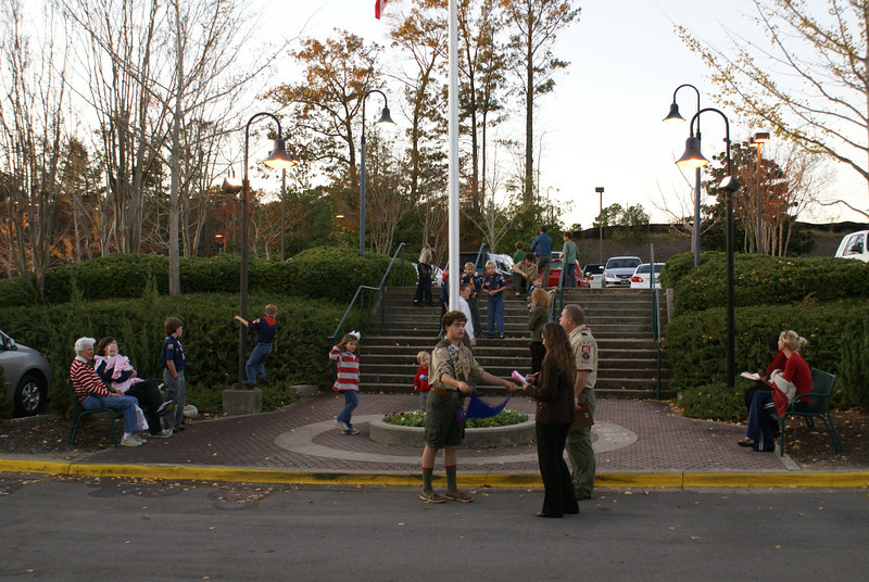 Flag Lowering November 12, 2009