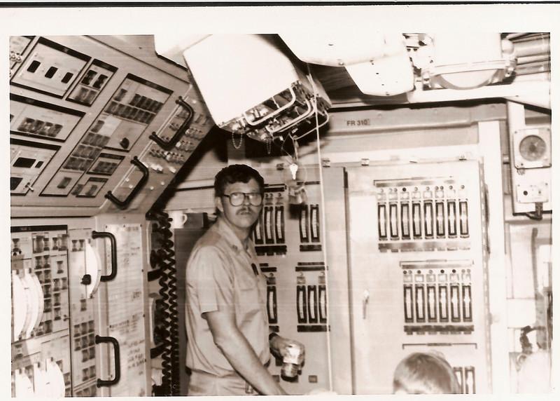 Enginroom Control Station 09/15/1985