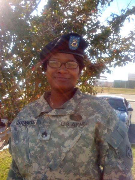 Demietria Greenwood  - SSG U. S. Army