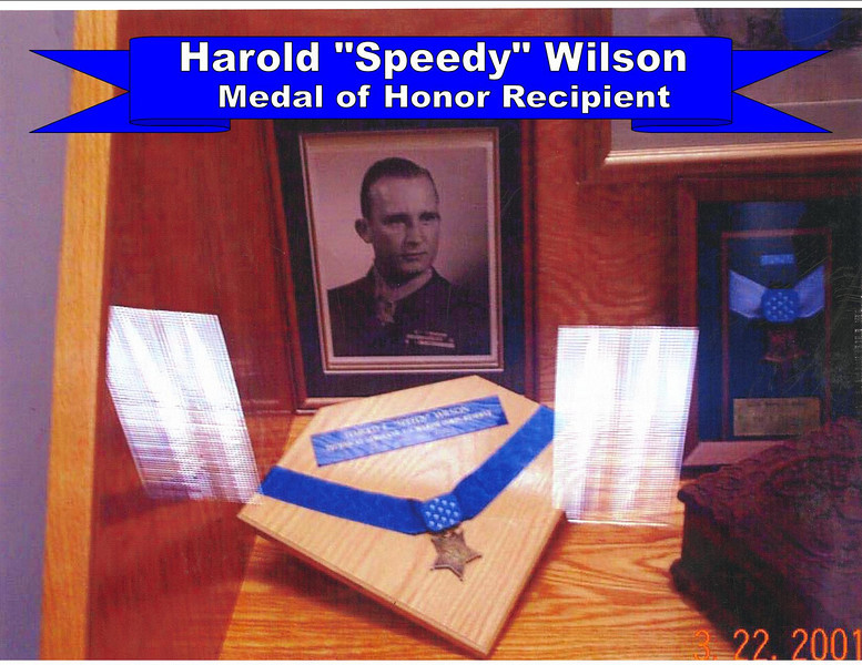 Harold Wilson and Medal of Honor