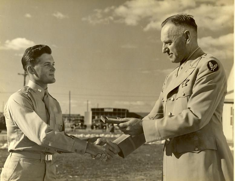 Hollis Hayes - Left - U.S. Air Force