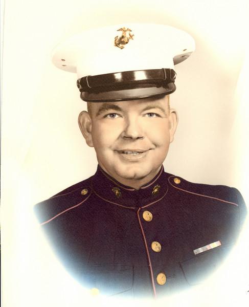Carroll S Gipson - Captain Marines
