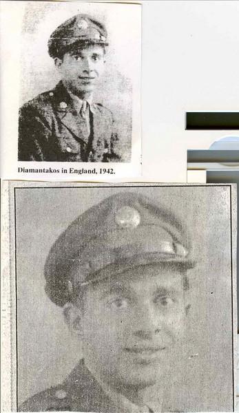 John Diamantikos WWII