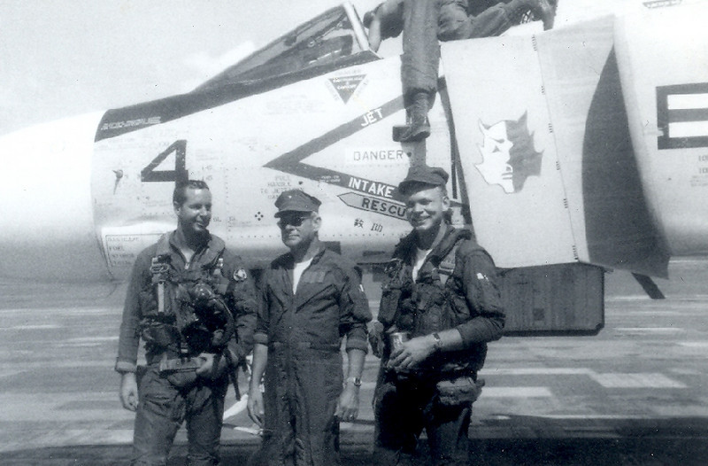 Robert Jacobs on right, KIA Vietnam