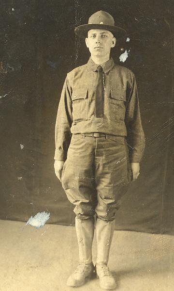 Nick Bourboulas - Army - WWI