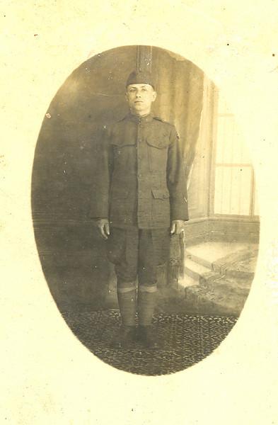 Nick Bourboulas - U.S. Army WWI