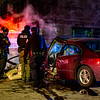 The scene of a fatal auto accident at the intersection of Cass and Grand River in Detroit MI on December 20th at approximately 5:50pm