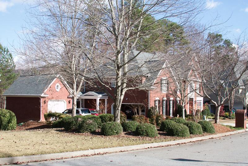 Ann's house in John's Creek near Atlanta