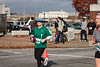 Cheri along the route of the Atlanta Thanksgiving half-marathon