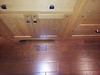 Pure all-maple floors, Amish made cabinets with furniture quality kickboard