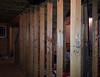 Basement--9 foot ceilings with all 2x6 framing--interior and exterior.  Very sturdy and perfect for heavy insulation.