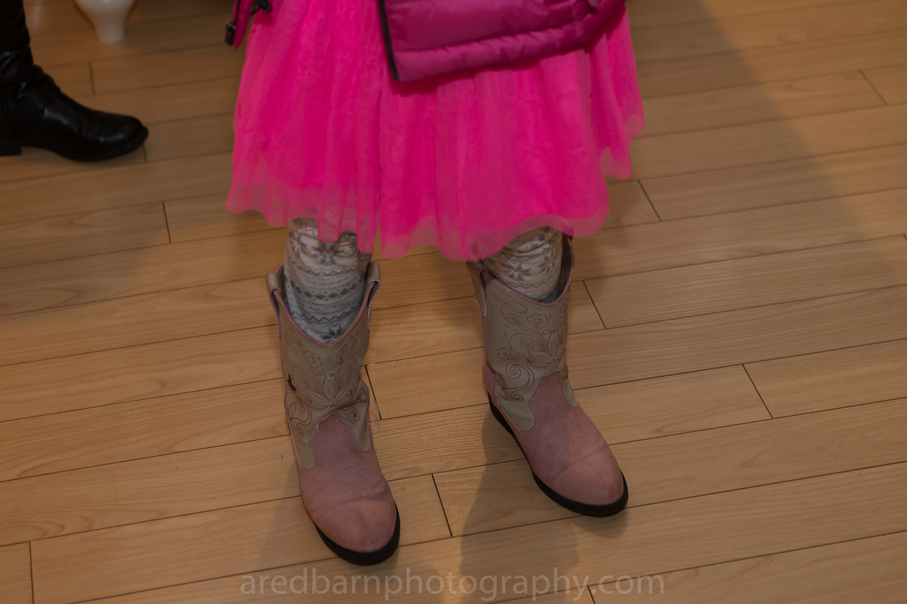 Julia and her Boots.