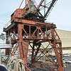 """The only remaining """"Whirley crane"""" from the war years."""