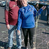 Leominster Superintendent Paula Deacon and Fitchburg Superintendent Robert Jokela got silly stringed by students from both school systems during the Thanksgiving rivalry fundraiser held at Barnes & Noble in Leominster on Saturday, Nov. 23, 2019. SENTINEL & ENTERPRISE/JOHN LOVE