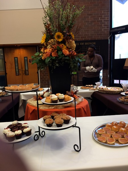 Thanksgiving Dessert Reception
