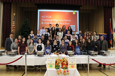 Thanksgiving Family Service, ACYOA Lunch and Live Service Auction, November 20, 2016