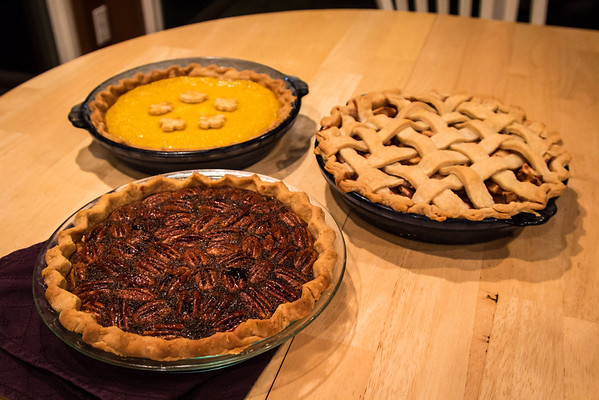 Felicity's Thanksgiving pies
