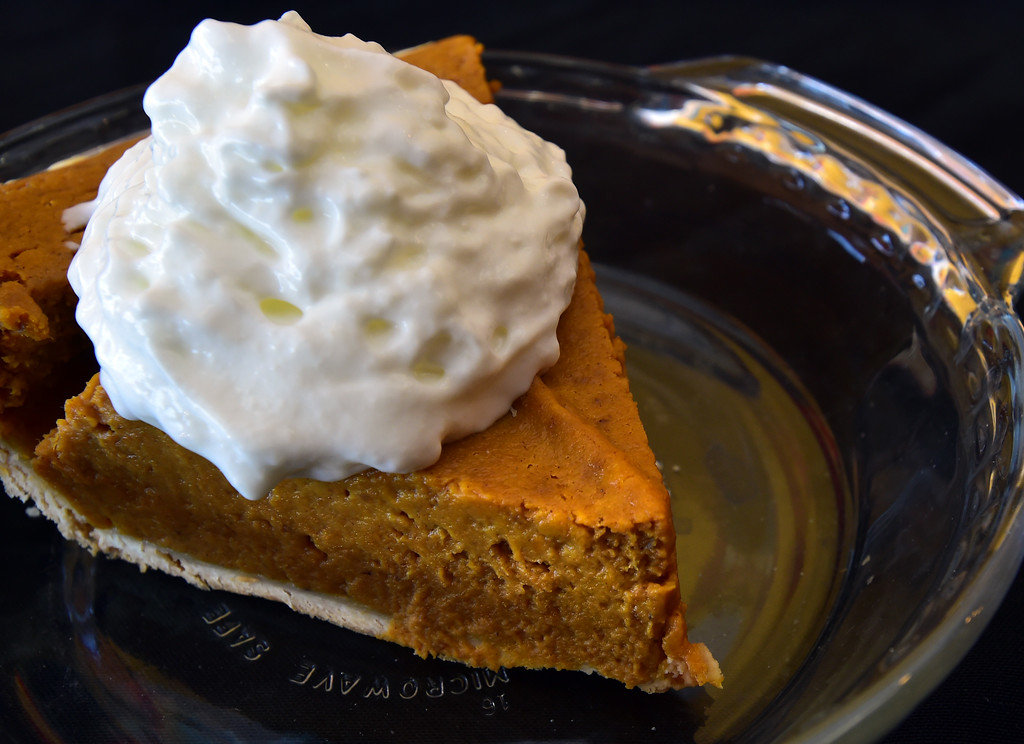 . Pumpkin Pie at the Walnut Cafe in Boulder on Monday. Paul Aiken Staff Photographer Nov 13, 2017