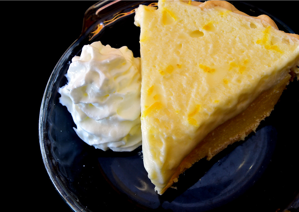 . Ray\'s Lemon Cream Pie at the Walnut Cafe in Boulder on Monday. Paul Aiken Staff Photographer Nov 13, 2017