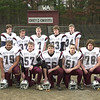 11/11/04 --  Westford Academy Football for Thanksgiving tab.  This is the offence l to r front Chad Paddock, Divij Mathew, Pat Gendron, Joe Parisi, Kevin Wood, Tom Gagnon, Kyle McNiff.  rear l to r Oliver Kell, Ian Cox, Neil Powers, Scott Foley, Jay Peterson.  Sun photo by Michael Pigeon#4815