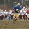 11/24/04-acton v westford turkey: Acton Boxboro vs Westford Thanksgiving day football game at Acton Boxboro high School . AB larry Abare carries ball for touchdown .  photo by Tory germann digital image4997