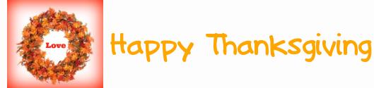 Thanksgivinf signature