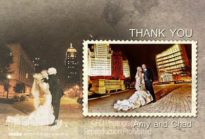 THANK YOU ? SAVE THE DATE CARDS