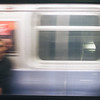 A split second between strangers on opposing trains