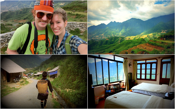 A 2 day hike through the hillside in Sapa, Vietnam.