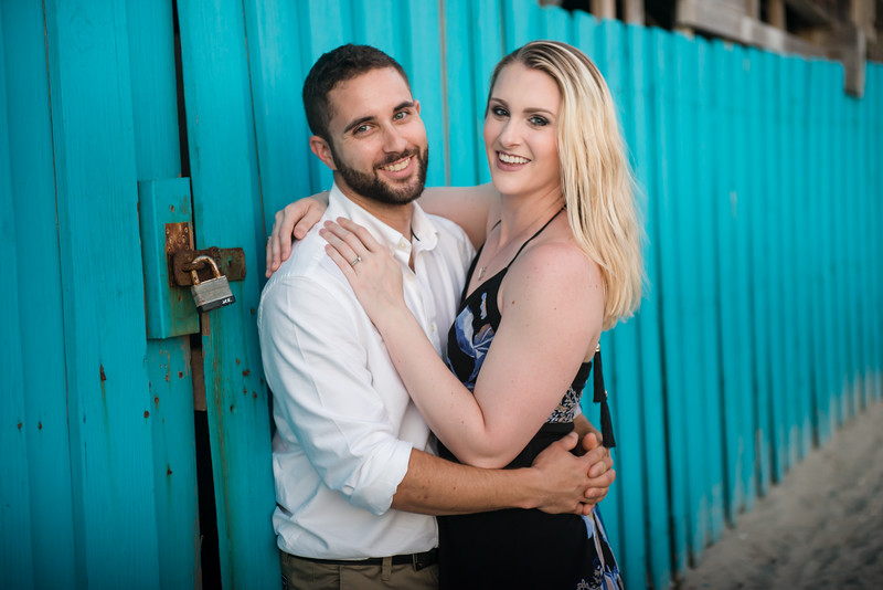Cocoa Beach Pier Engagement Session
