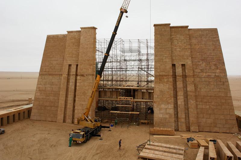 Physical base of palace for 10000BC Namibia