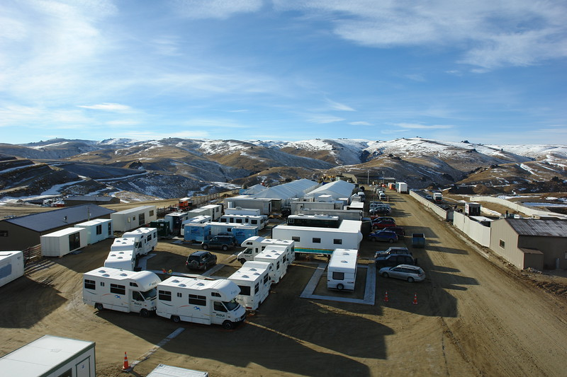 Base camp at Snow Farm, NZ