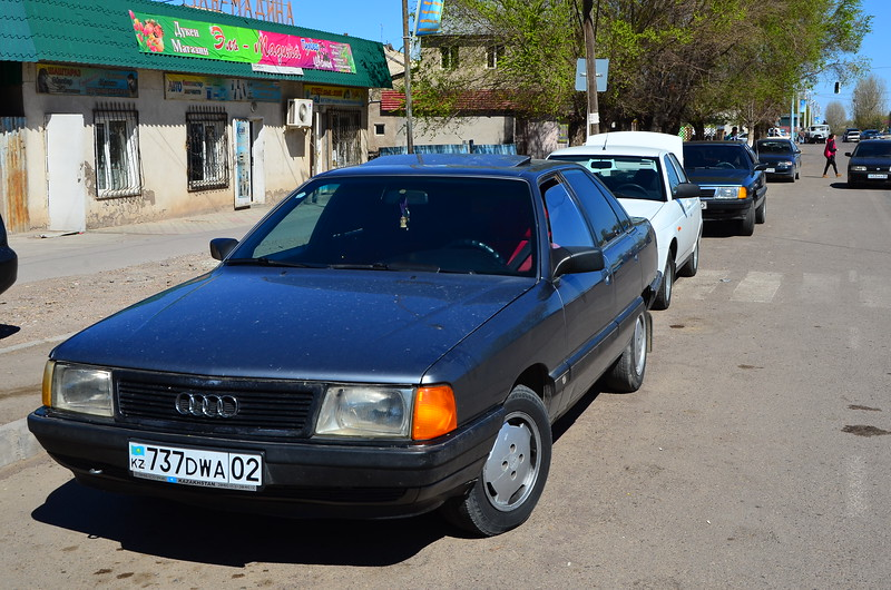 Local town was filled with old Audis
