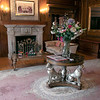 """The Thayer Mansion in Lancaster was used recently in the new movie """"Little Women"""" that came out in 2019. This foyer was used in the movie. Right where the table in the middle of the room is they had put a piano for a scene. SENTINEL & ENTERPRISE/JOHN LOVE"""
