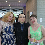 Jennifer and Albert Seow with Erin Lerner.