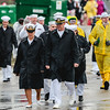 Marines enter the infield for the 143rd Kentucky Derby at Churchill Downs on Saturday. Staff Photo By Josh Hicks