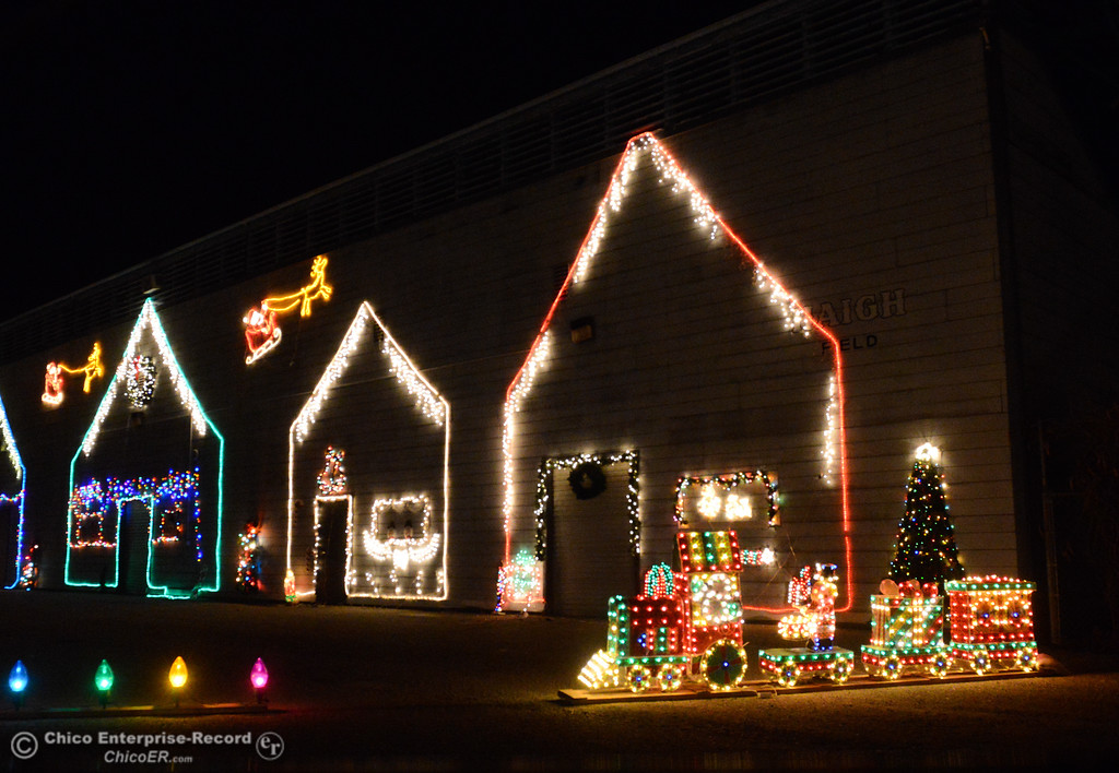 . Just a little teaser of what the 14th annual Avenue of Lights looks like Wednesday December 13, 2017 at the Glenn County Fairgrounds in Orland, California. (Emily Bertolino -- Enterprise-Record)