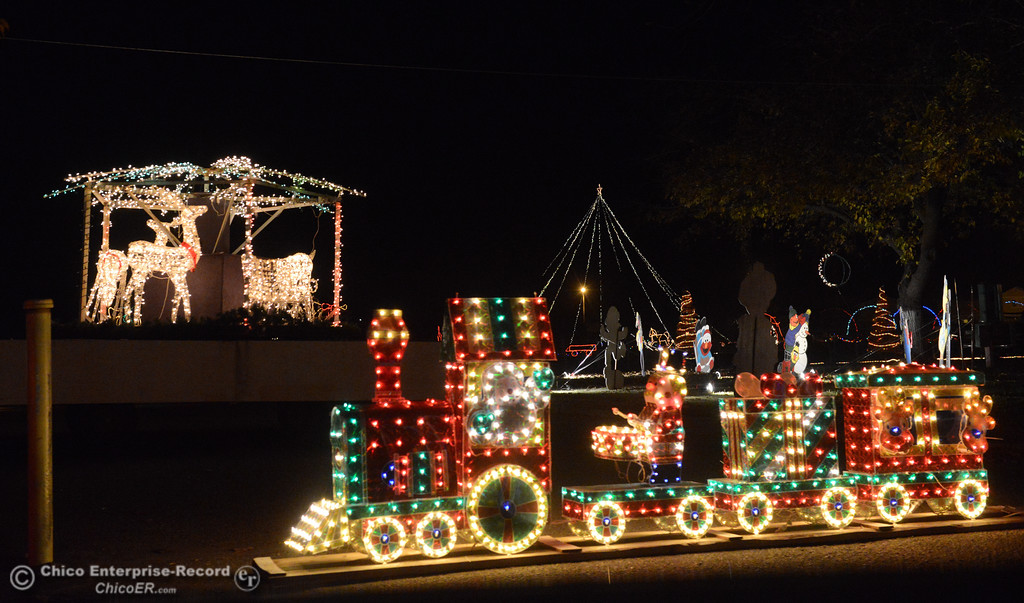 . The Orland Historical & Cultural Society presents the 14th annual Avenue of Lights Wednesday December 13, 2017 at the Glenn County Fairgrounds in Orland, California. (Emily Bertolino -- Enterprise-Record)