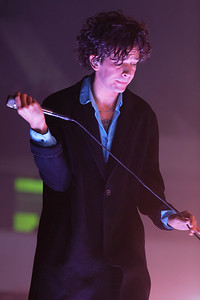 The 1975 live at EMU Convocation Center in Ypsilanti, MI.  on 11-11-16. Photo credit: Ken Settle