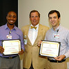 Lamar Hunter, Dr. Spence Taylor, Ben DeMarco
