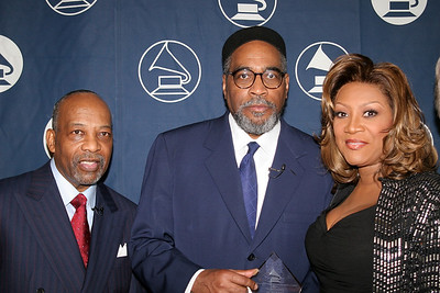 File image-PHILADELPHIA-4-10-2006, Left, Leon A. Huff, Center, Kenny Gamble, Right Patti Labelle at the Philadelphia Grammy Event on Delaware Avenue.