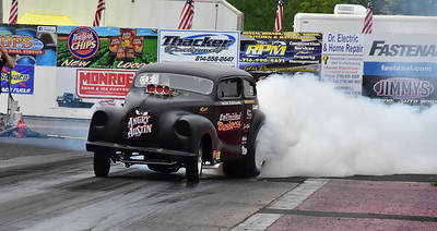 The 2017  Gold Cup Empire Dragway , Mt. Morris New York