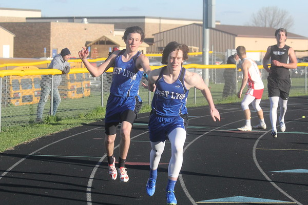 The 2017 West Lyon relays