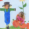 The 29th Annual Ashby Pumpkin Festival & Craft Fair was held on Saturday, September 28, 2019. It was hosted by the Ashby Free Public Library. Isak Matson, 6, and his sister Chelsea Matson, 2, of Fitzwilliam New Hampshire have some fun at the fair. SENTINEL & ENTERPRISE/JOHN LOVE
